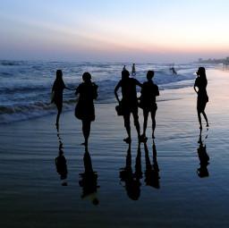 beachphotography sunset nature travel emotions freetoedit