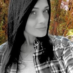 selfie colorsplash me woods people