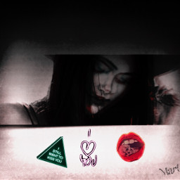 freetoedit mystic girl neon remix