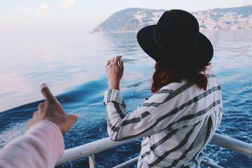 sea vacation travel fashion