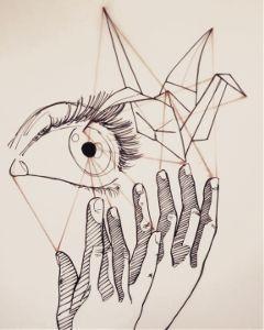 drawing ink figurativeart theprometeus