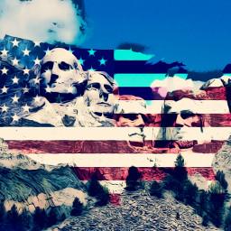 freetoedit usa texture presidents muntain