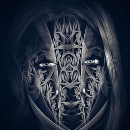 fantasy abstract blackandwhite artisticportrait interesting