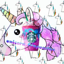 freetoedit unicornfrappucino