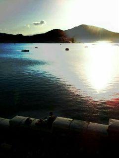 sea sunset colorful seaside foryou
