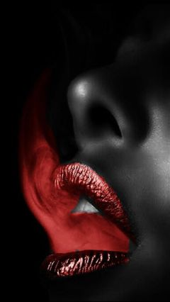 freetoedit fire red lips photography