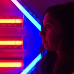 photography portrait profile lights freetoedit