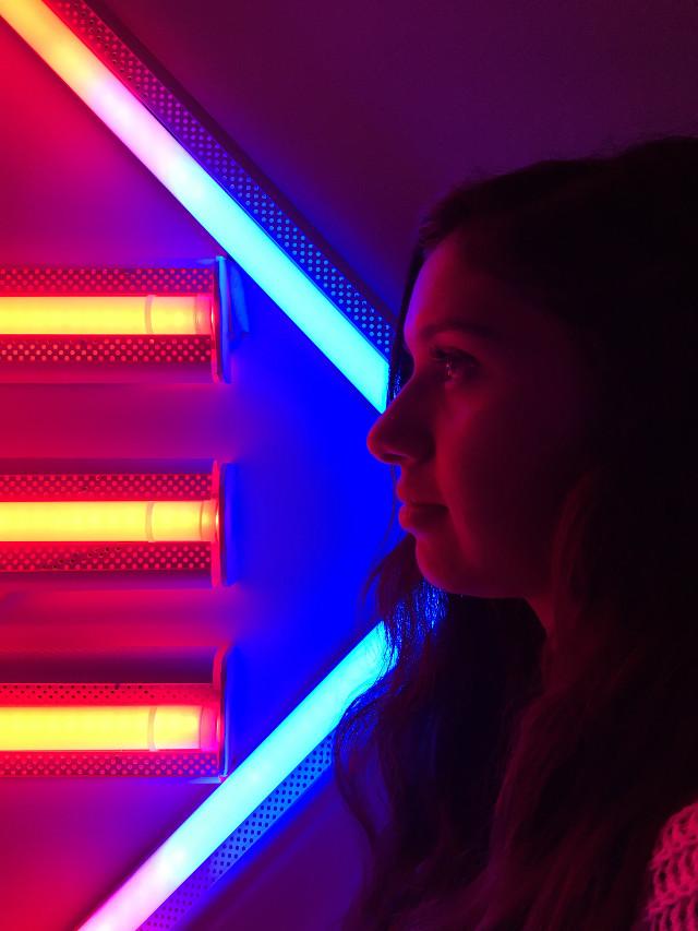 #photography #portrait #profile #lights #FreeToEdit