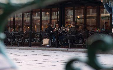 boston streetphotography friendship gathering moments