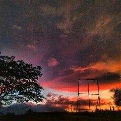 sunset mountain nature photography picsart freetoedit