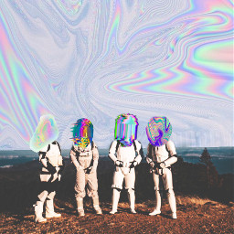 freetoedit stormtroopers holographic glitch interesting