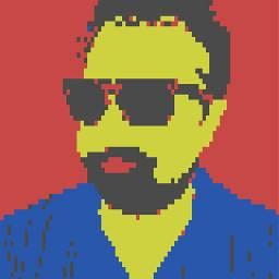 freetoedit 8bit avatar kathketo colorful