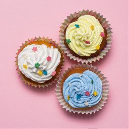 freetoedit cupcakes muffin colored pinkbackground