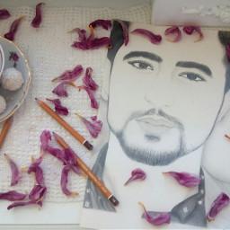 myart mydrawing pencilart portrait man      @-djjdjffj