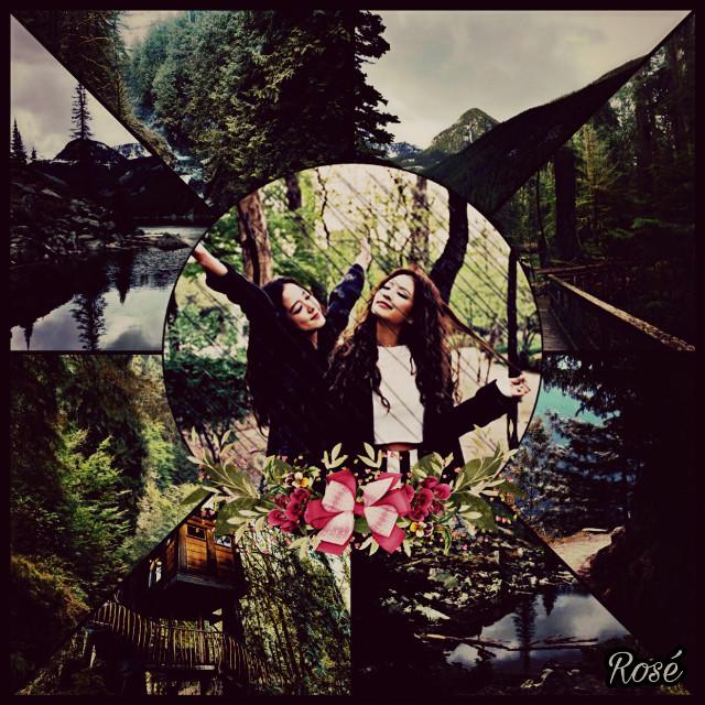#Jensoo #Blackpink #blackpinkjisoo #blackpinkjennie #forest #edit #collage