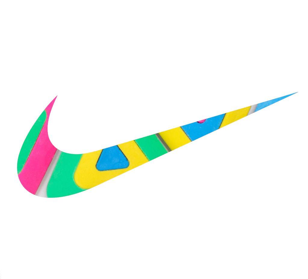 Freetoedit Nike Swoosh Logo Colors Geometric Perfection