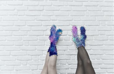 freetoedit stitched galaxy galaxysocks socks