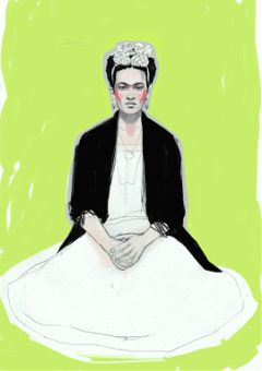 drawing fridakahlo madewithpicsart
