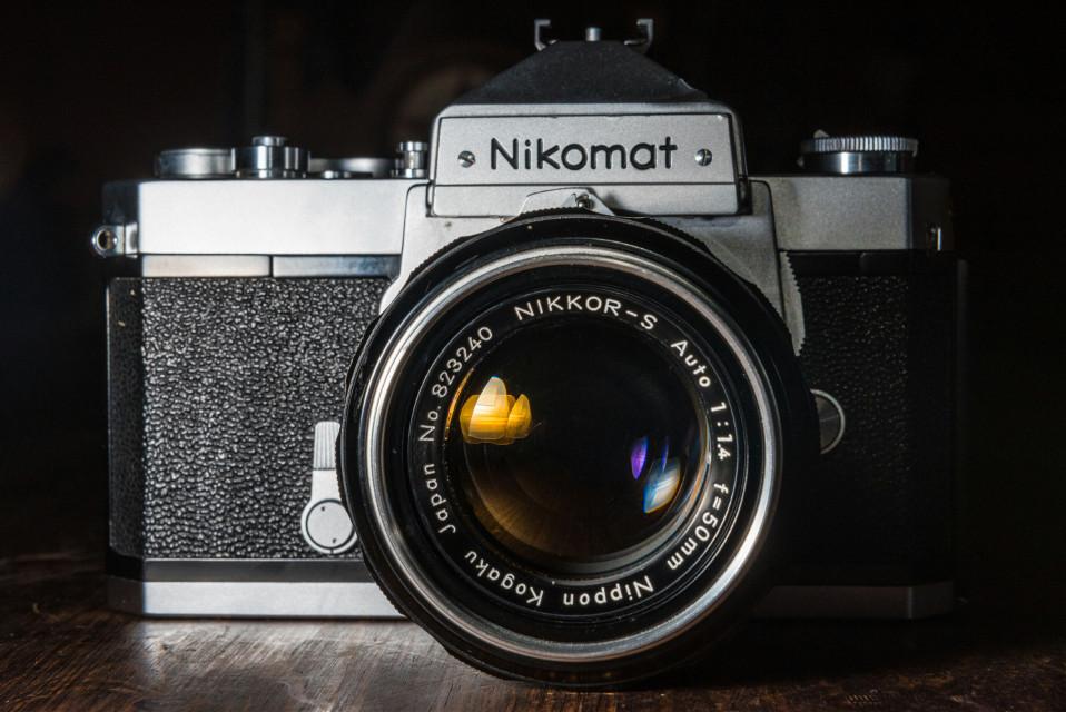 Love film cameras.    #FreeToEdit