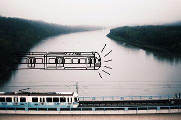 train drawing mydrawing